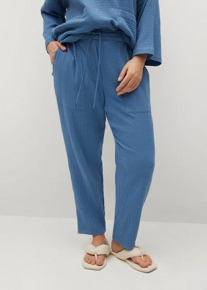 Женские брюки Mango (Манго) 87015650