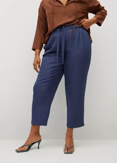 Женские брюки Mango (Манго) 87017111