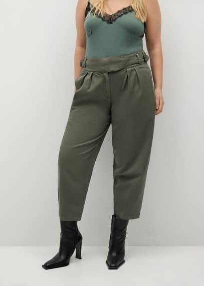 Женские брюки Mango (Манго) 87023632