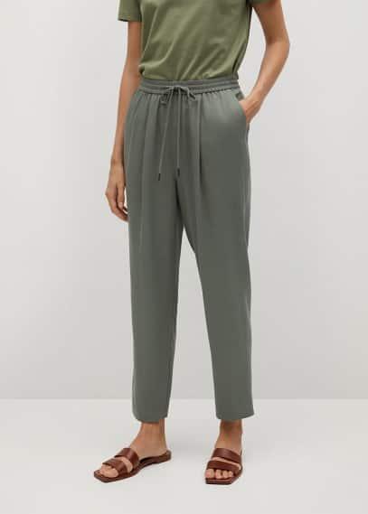 Женские брюки Mango (Манго) 87024755