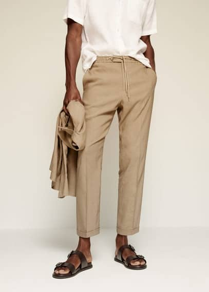Мужские брюки Mango (Манго) 87025629
