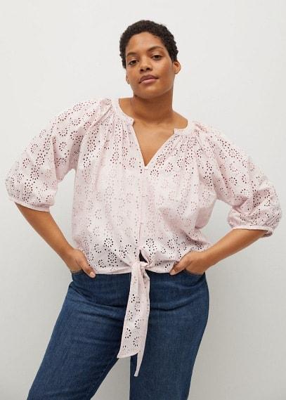 Рубашка Mango (Манго) 87025637