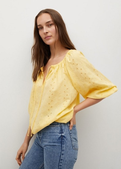 Блуза Mango (Манго) 87027128