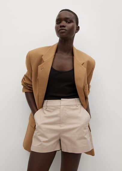 Женские шорты Mango (Манго) 87028253: изображение 3