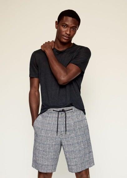 Мужские шорты Mango (Манго) 87029025: изображение 2