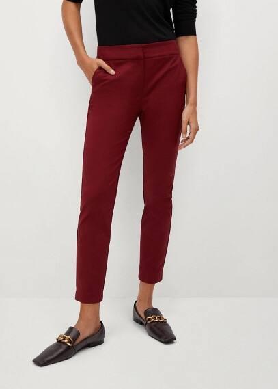 Женские брюки Mango (Манго) Костюмные брюки-дудочки - Cofi7-n