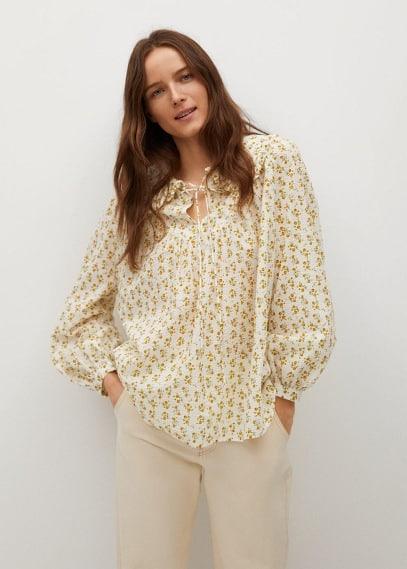 Блуза Mango (Манго) 87035666: изображение 7