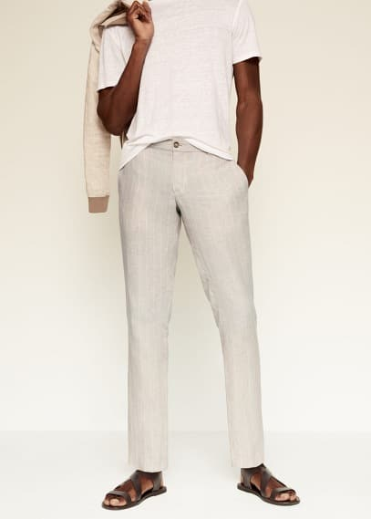 Мужские брюки Mango (Манго) 87035672