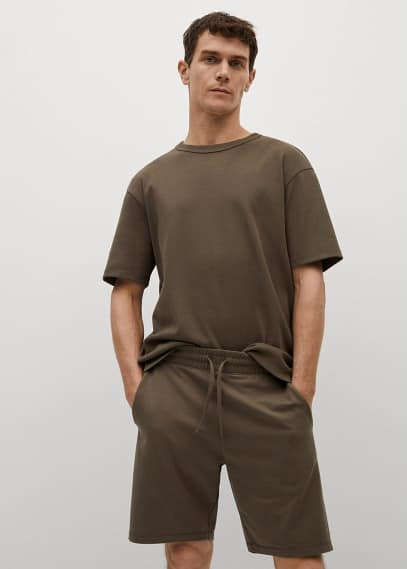 Мужские шорты Mango (Манго) 87035906