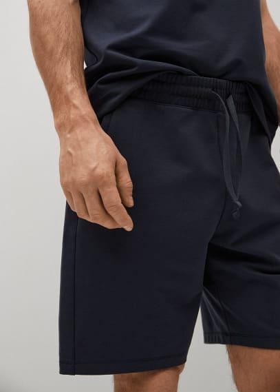 Мужские шорты Mango (Манго) 87035906: изображение 3