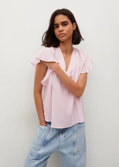 Блуза Mango (Манго) 87038639