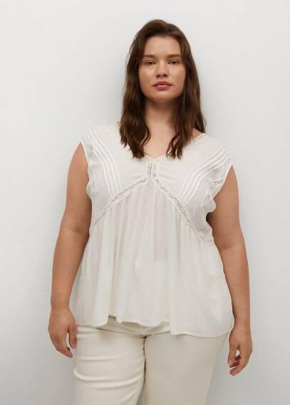 Рубашка Mango (Манго) 87039016