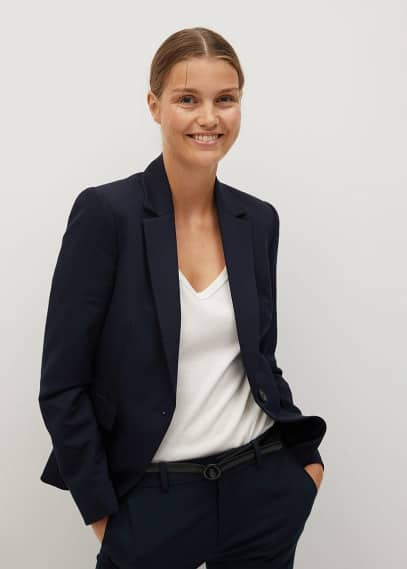 Жилет Mango (Манго) Приталенный пиджак базовой модели - Boreal