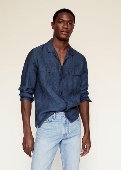 Рубашка Mango (Манго) 87045624