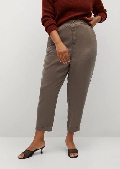 Женские брюки Mango (Манго) 87045628