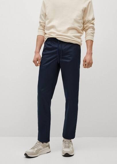 Мужские брюки Mango (Манго) 87045639