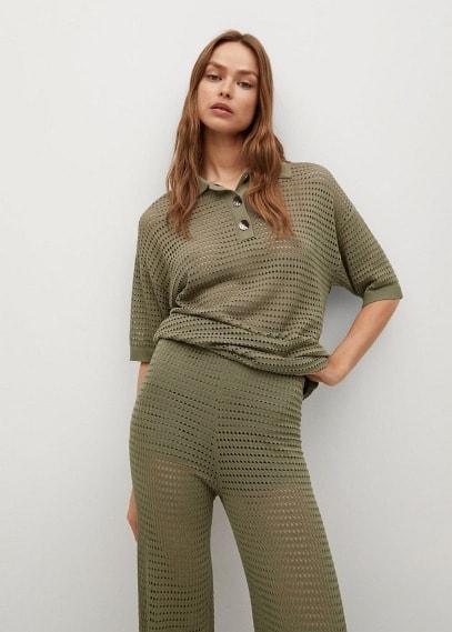 Женские брюки Mango (Манго) 87045647
