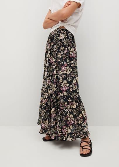 Широкая юбка Mango (Манго) 87045666