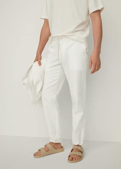 Мужские брюки Mango (Манго) 87047116