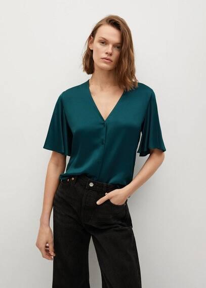 Блуза Mango (Манго) 87048253