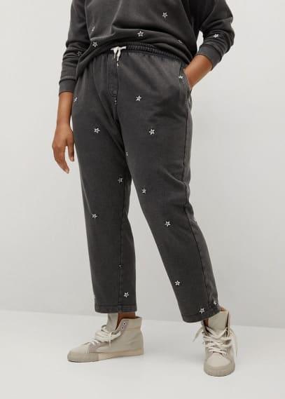 Женские брюки Mango (Манго) 87055639