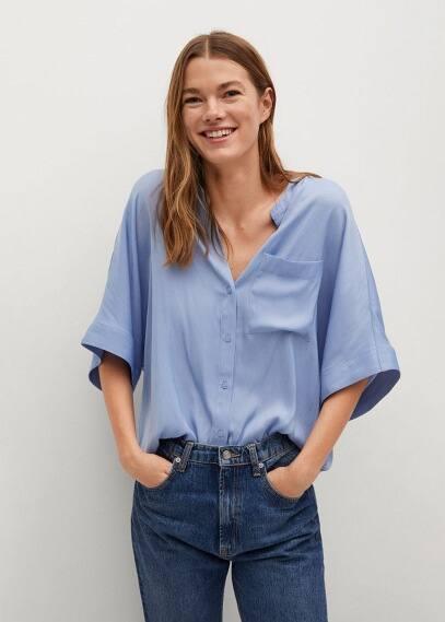 Блуза Mango (Манго) 87057129