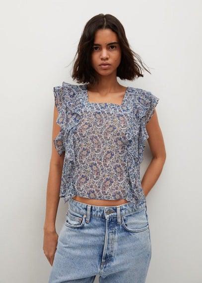 Блуза Mango (Манго) 87057158