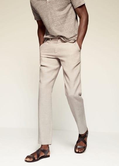 Мужские брюки Mango (Манго) 87065624