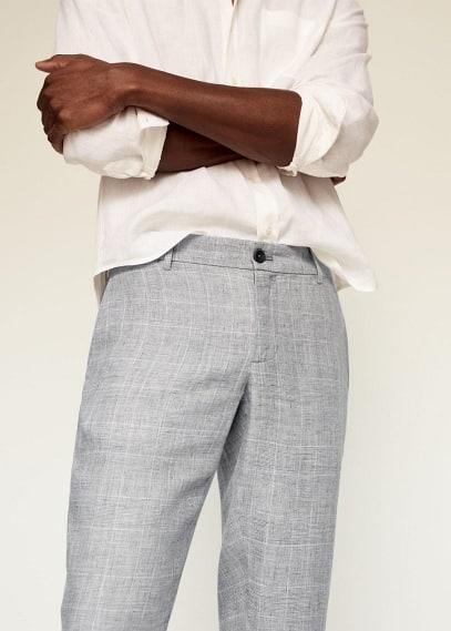 Мужские брюки Mango (Манго) 87065671: изображение 3