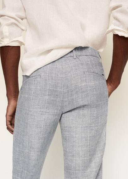 Мужские брюки Mango (Манго) 87065671: изображение 4
