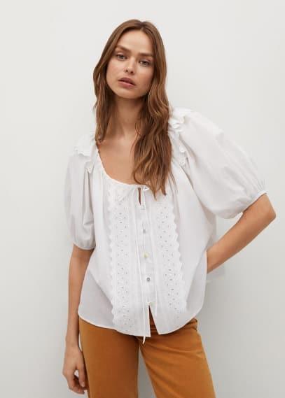Блуза Mango (Манго) 87065716