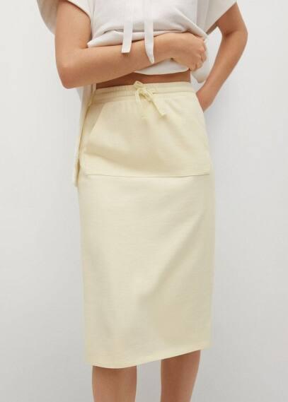 Прямая юбка Mango (Манго) 87068633