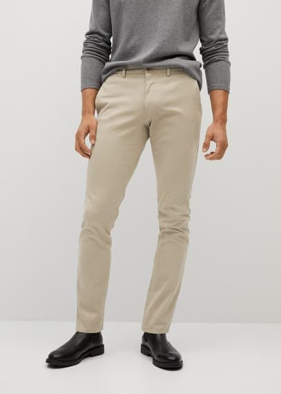 Мужские брюки Mango (Манго) 87074008