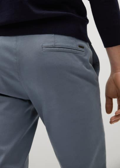 Мужские брюки Mango (Манго) 87074008: изображение 3
