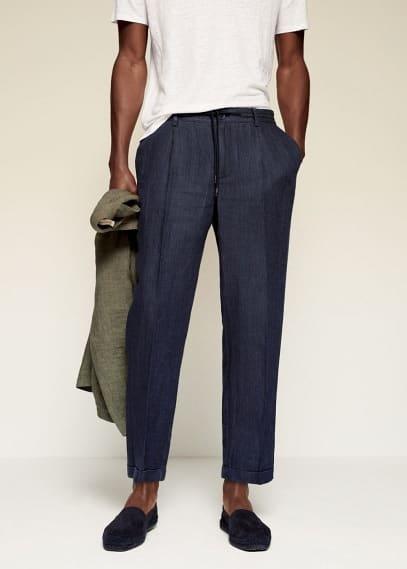 Мужские брюки Mango (Манго) 87075623