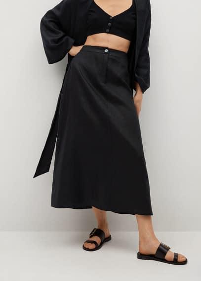 Широкая юбка Mango (Манго) 87075635