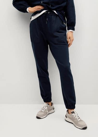 Женские спортивные брюки Mango (Манго) 87085647
