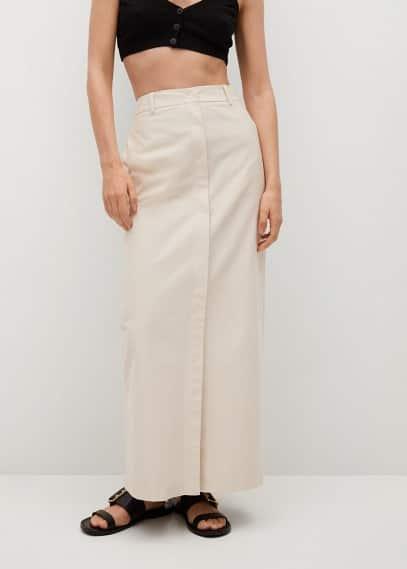 Прямая юбка Mango (Манго) 87086304