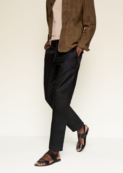 Мужские брюки Mango (Манго) 87087617