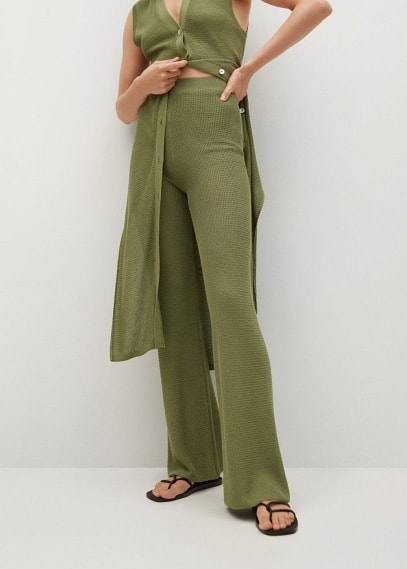 Женские брюки Mango (Манго) 87088630: изображение 2