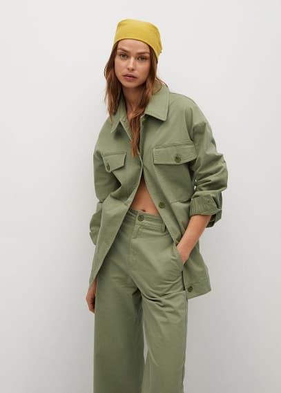 Женские широкие и расклешенные брюки Mango (Манго) 87096316