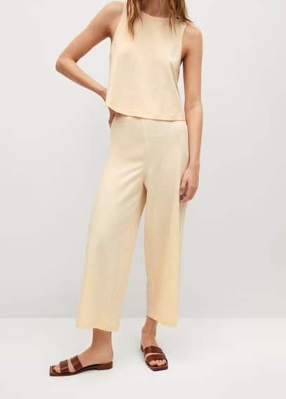 Женские брюки Mango (Манго) 87097131: изображение 2