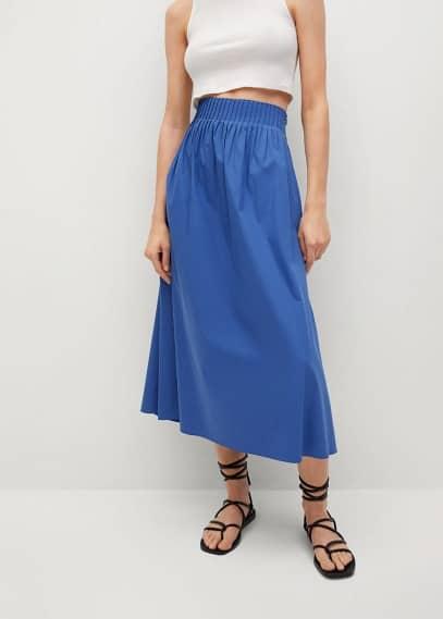 Широкая юбка Mango (Манго) 87097149