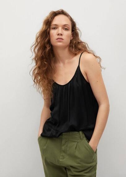 Блуза Mango (Манго) 87097150