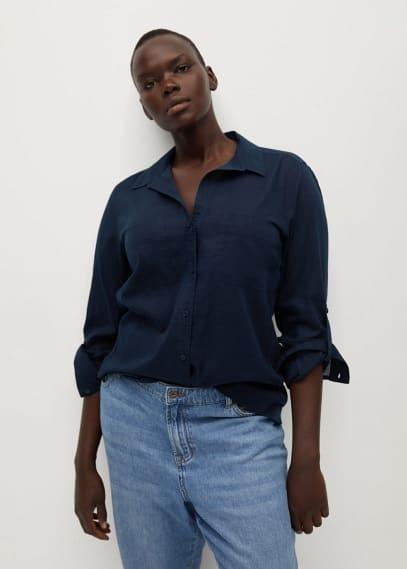Рубашка Mango (Манго) 87140511