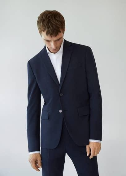 Пиджак Mango (Манго) Костюмный пиджак slim fit - Brasilia