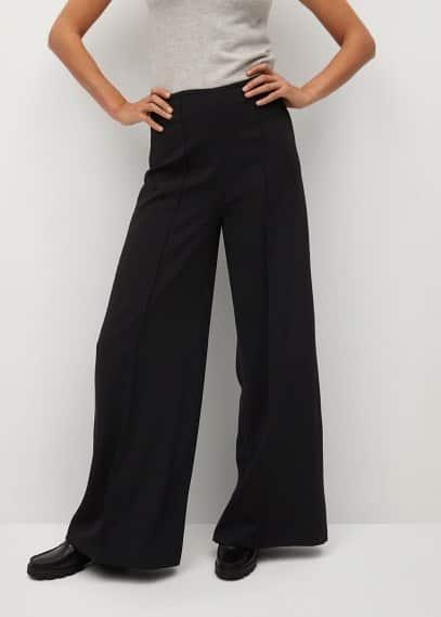 Женские брюки Mango (Манго) Брюки с защипами - Justoc-i