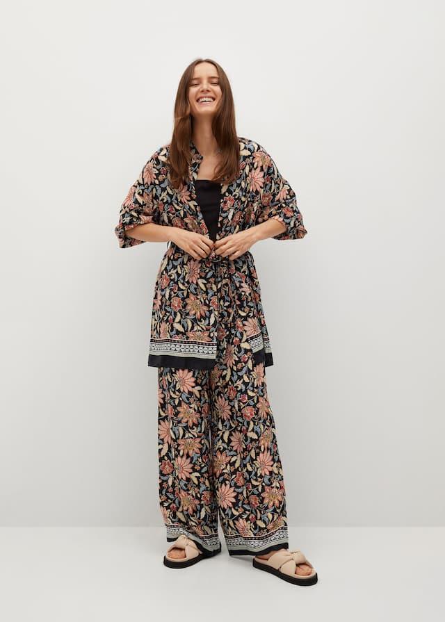Φόρεμα κιμονό φλοράλ - Γενικό πλάνο