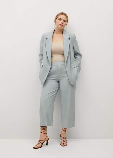 Veste de costume structurée - Plan général
