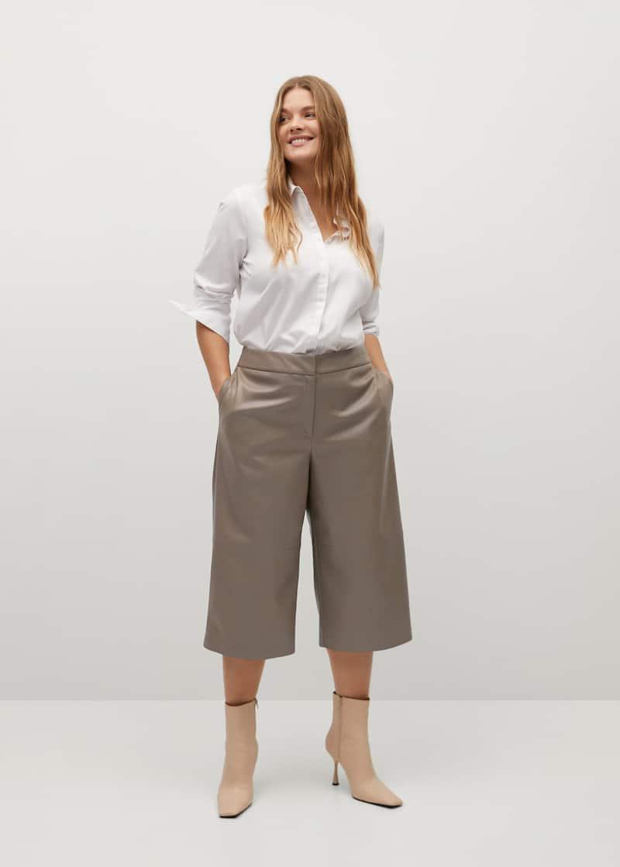 Pantalones Tallas Grandes 2021 Violeta By Mng Guatemala